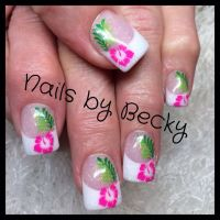 1000+ images about hawaiian nail designs on Pinterest ...