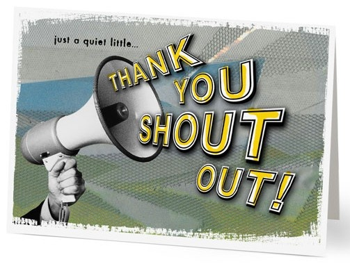 Give Your Employees A Shout Out For Their Great Work