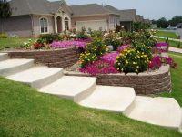 Steep Sloped Back Yard Landscaping Ideas | Sloped Front ...