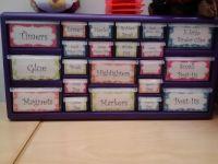 office supply organizer   She's Crafty!   Pinterest ...