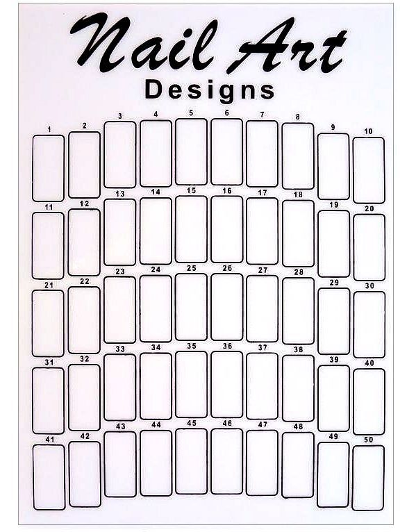 23 best Nail Practice Sheets images on Pinterest