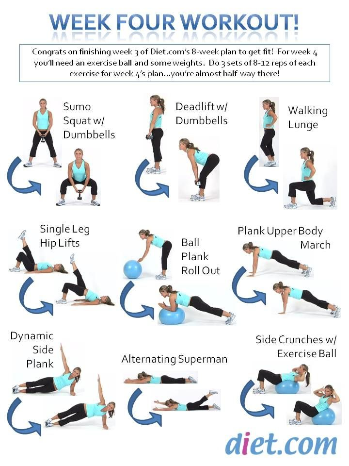 9 Best Images About 8 Week Fitness Challenge! On Pinterest