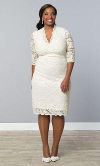 10 Best images about Short Plus Size Wedding Dress on ...