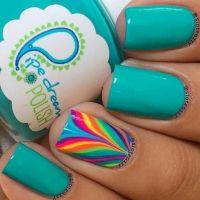25+ best ideas about Teal nail polish on Pinterest ...