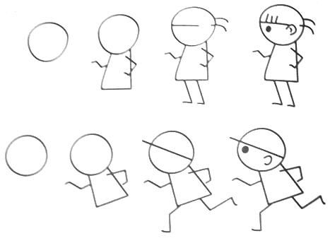 61 best images about Stick people Clipart on Pinterest