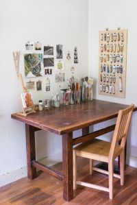 25+ Best Ideas about Art Desk on Pinterest | Craft room ...