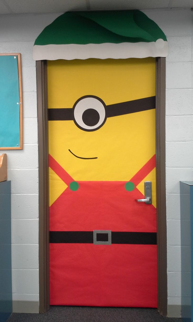 Ms de 1000 ideas sobre Minion Door Decorations en