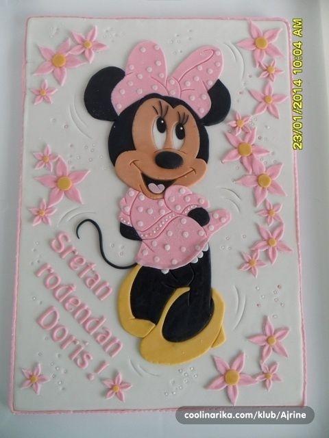 Pokrivka Za Tortu Coolinarika Miki Maus Cakes
