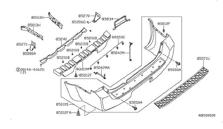 2012 Nissan Rogue Parts Diagram Sketch Coloring Page