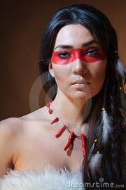 indian native american and faces