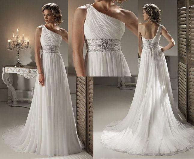 25+ Best Ideas About Goddess Wedding Dresses On Pinterest