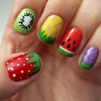 25+ best ideas about Fruit nail designs on Pinterest ...