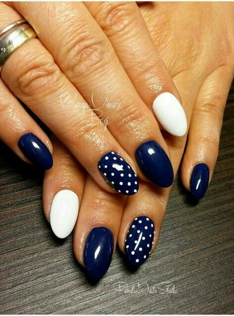 25+ best ideas about Dot nail art on Pinterest