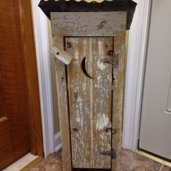 Unfinished Kitchen Pantry Wine Decor Accessories Small Outhouse Made From Barn Wood And Distressed For My ...