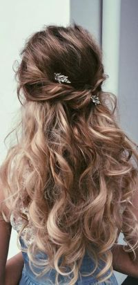 Best 25+ Wedding hairstyles long hair ideas on Pinterest ...