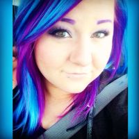 Purple and blue hair Ion Color Brilliance Brights Semi ...