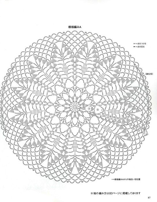 17 Best images about Crochet doily patterns on Pinterest