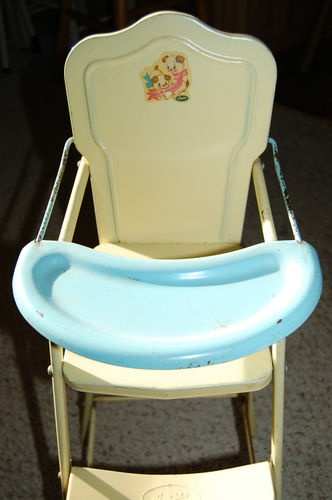 antique chairs ebay espresso rocking chair nursery 1000+ images about 1950s vintage high on pinterest | potty chair, baby dolls and 1940s