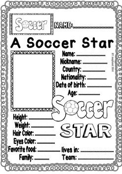 Worksheets, Soccer and Math on Pinterest
