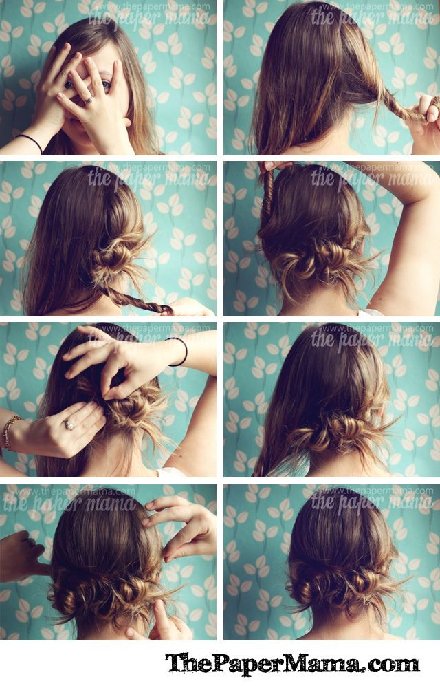 1341 Best Images About Bobby Pins And Clear Elastics On Pinterest