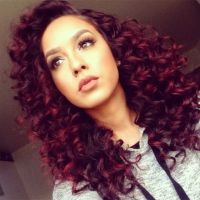 1000+ ideas about Dyed Curly Hair on Pinterest | Curly ...