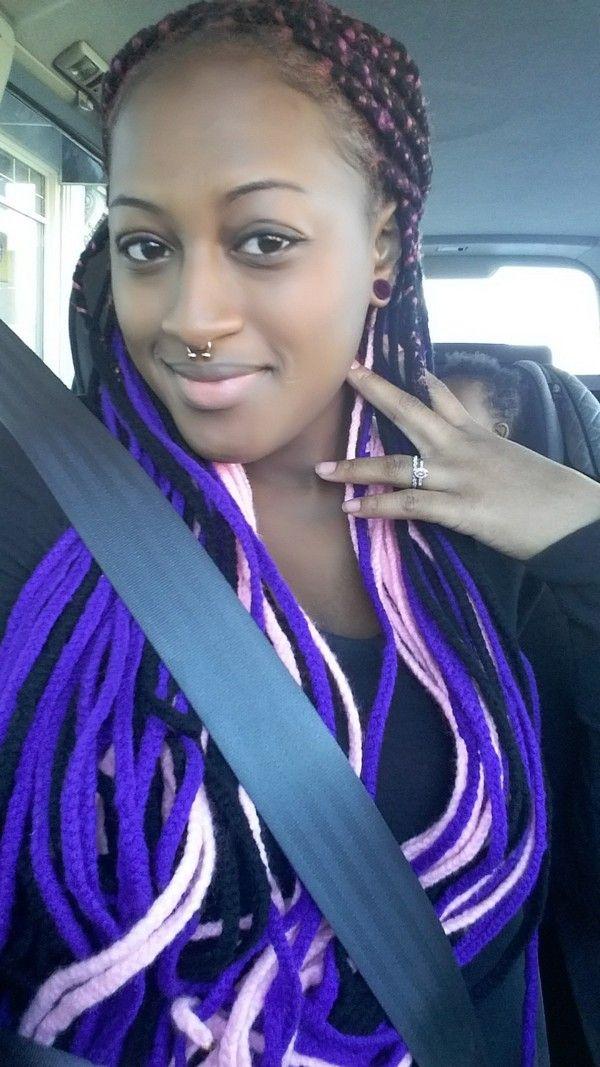 25+ best ideas about Yarn braids on Pinterest