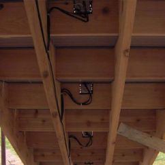 Lighting Wiring Diagram Junction Box Horn Relay Underside Of Deck Steps Showing Low Voltage Boxes And Wiring. | Ideas For ...
