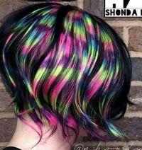 25+ best ideas about Rainbow dyed hair on Pinterest ...