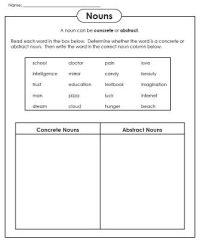 Check out our new abstract noun worksheets! | Super ...