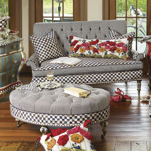 mackenzie sofa chesterfirld childs chairs   just in: new mackenzie-childs ...