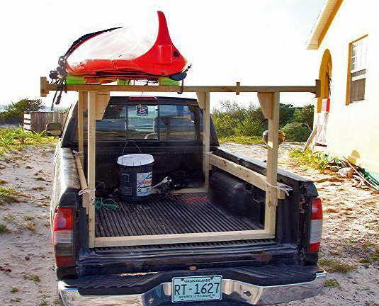 homemade truck rack