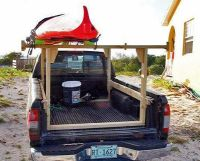 homemade truck rack