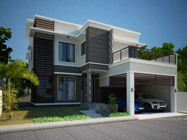 Modern Home Designs In Two Storey 5 House Elevation Modern