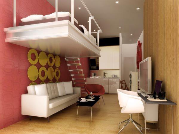 Interior Design Ideas For Studio Type Apartment