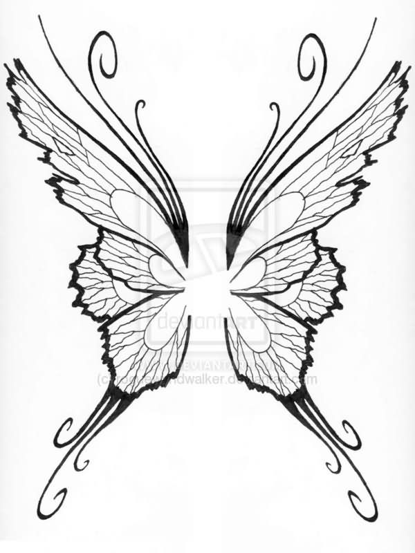 25 Best Ideas About Angle Wing Tattoos