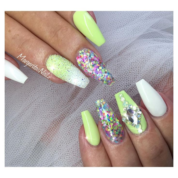 25+ Best Ideas about Lime Green Nails on Pinterest