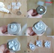 details diy piping flower