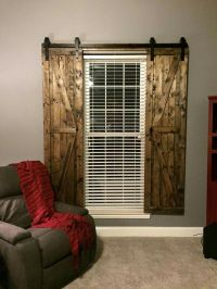 Barn door shutters | Decor | Pinterest | A well, Sliding ...