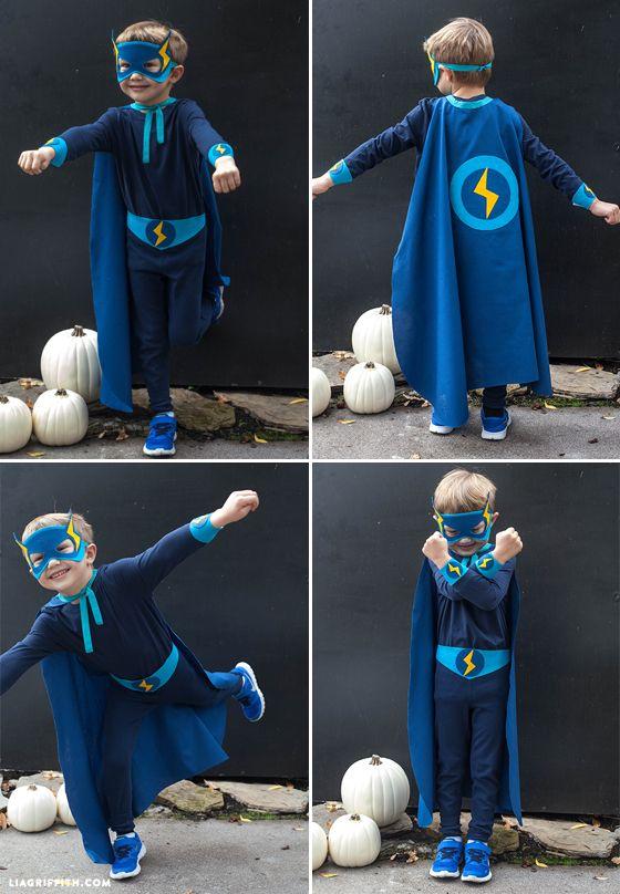 super hero costume maker