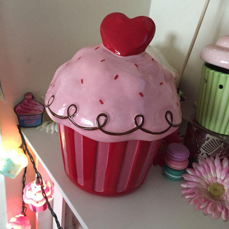 kitchen storage canisters best appliances target valentine's day heart cupcake cookie jar ️ just ...