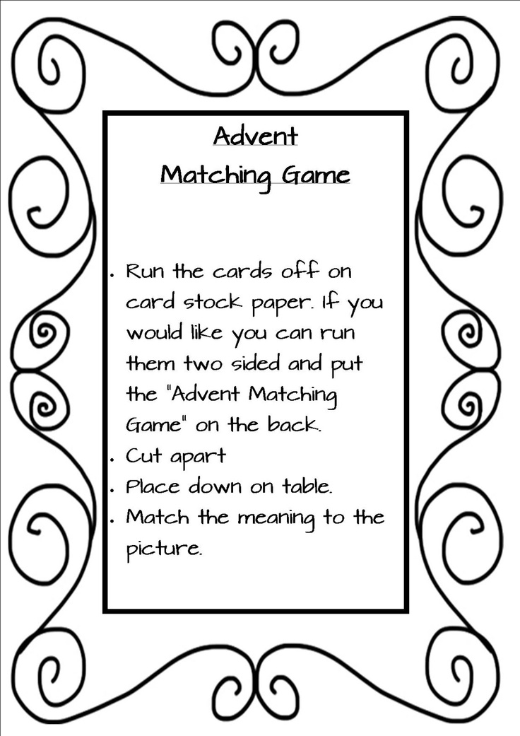 42 best images about Advent Activities on Pinterest