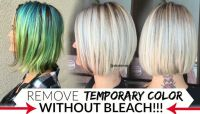 How to remove temporary hair colors like Pravana, Manic ...