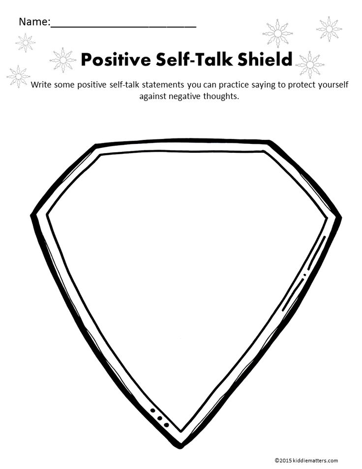 14 best images about Positive Self-Talk Activities on
