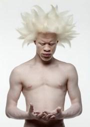 albino model deejay jewell awesome