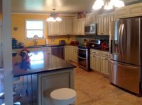 Bought Faircrest Heritage white kitchen cabinets. -Piper M ...