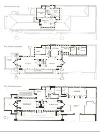 Frank Lloyd Wright - Robie House - Floor Plan | Homes ...
