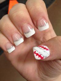 Baseball Nail Decals - Nail Ftempo