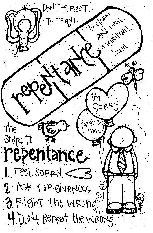 Melonheadz LDS illustrating: Repentence to do: http