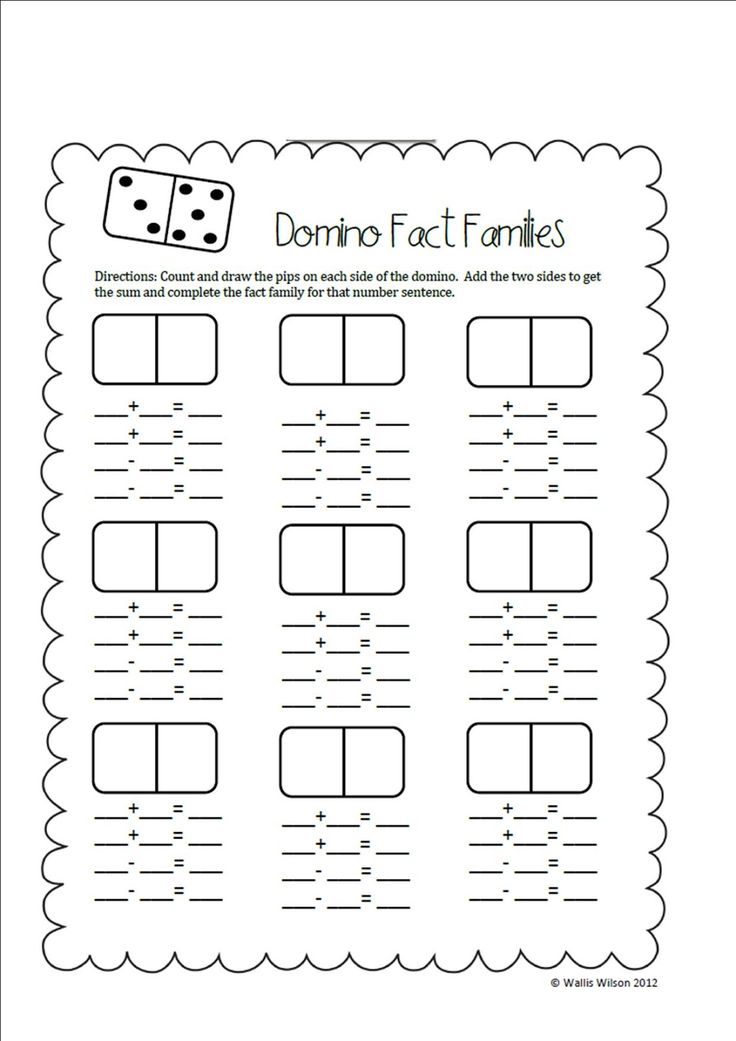 First Grade Wolves: Search results for domino fact