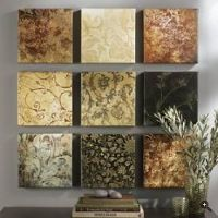 Scrapbook paper, Paper walls and Paper wall art on Pinterest